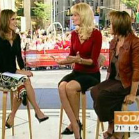 Natalie Morales, The Today Show, interviewing Holly Hollenbeck